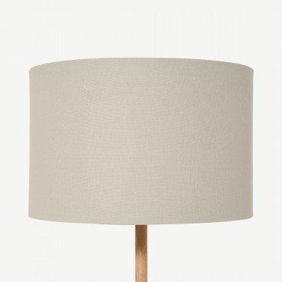 MADE.COM Emblyn lampenkap, 45 cm, lichtgrijze tinten