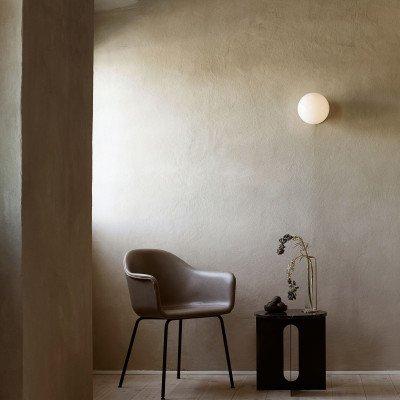 Menu Menu TR Bulb LED plafondlamp messing/opaal glans