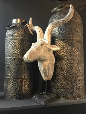 YardLife YardLife Ornament 'Hert' op voet