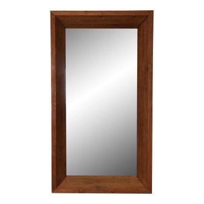 Firawonen.nl Ewan wood natural big mirror rectangle l