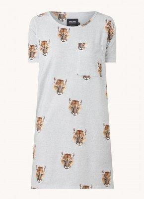Snurk Snurk Nachthemd met dierenprint