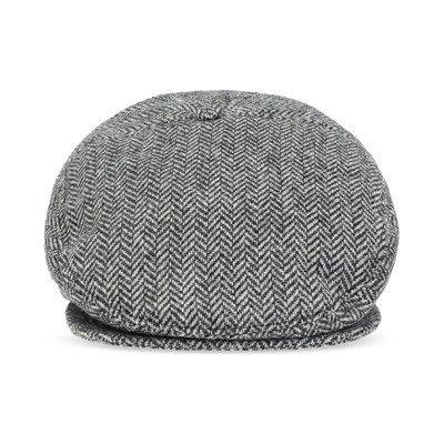 Dsquared2 Herringbone flat cap