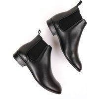 Will's Vegan Store Will's Vegan Store unisex vegan Chelsea Boots Zwart Zwart 44 Gerecycled rubber/Microfibre (micronappa, microsuède)/PU