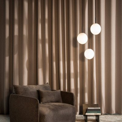 Menu Menu TR Bulb LED slinger 1-lamp zwart/opaal mat