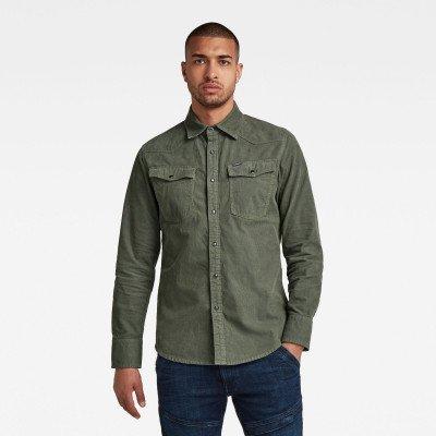 G-Star RAW 3301 Slim overhemd - Groen - Heren
