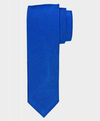 Michaelis Michaelis heren zijden stropdas koningsblauw