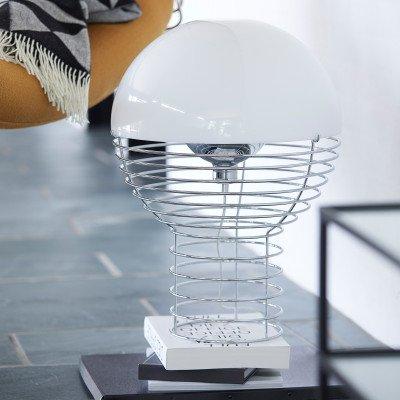 Verpan VERPAN Wire Large - tafellamp, kap wit