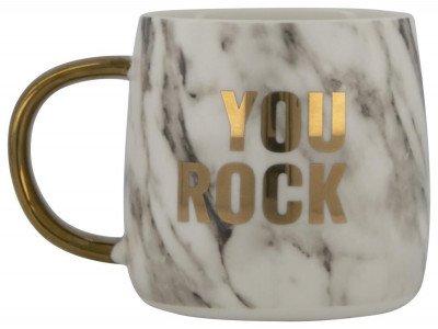HEMA Mok Ø 9 Cm 'you Rock'