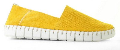 Cypres Cypres Kristen Ocre Damesloafers