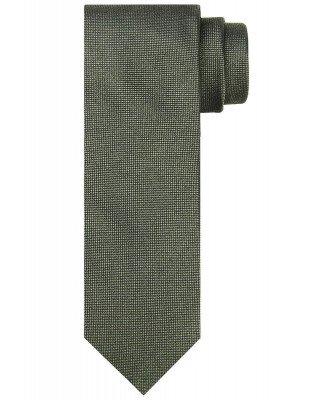 Profuomo Profuomo heren groene zijden stropdas