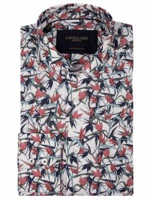 Cavallaro Napoli Cavallaro Napoli Heren Overhemd - Gennaro Overhemd - Multi Colour