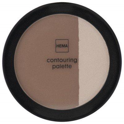 HEMA HEMA Contouring Palette 01 Pink Almond & Coffee (brons)