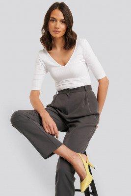 Trendyol Classic Heels Buckle Sandal - Yellow