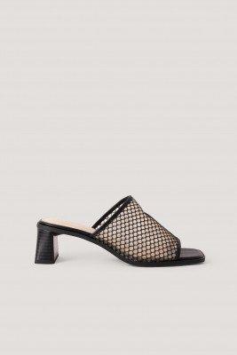 NA-KD Shoes Muiltjes - Black