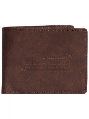 Billabong Billabong Walled PU Wallet bruin