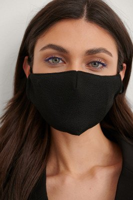 NA-KD Accessories NA-KD Accessories 2-Pack Textured Face Masks - Black,Pink