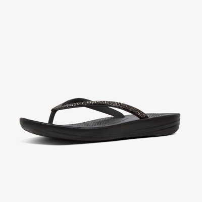 FitFlop FitFlop Iqushion slippers zwart
