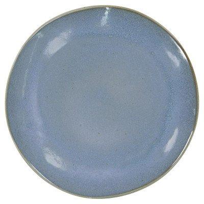 HEMA HEMA Dinerbord - 26 Cm - Porto - Reactief Glazuur - Blauw (blauw)