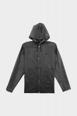 BALR. Big Logo Long Hooded Raincoat