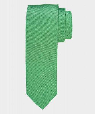 Michaelis Michaelis heren zijden stropdas groen