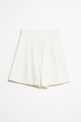 nu-in Front Pleat Shorts