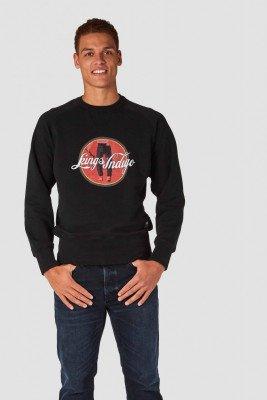 Kings of indigo Kings of Indigo - PARNELL sweater Male - Black
