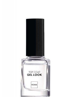 HEMA Top Coat Nailpolish Gel Look (transparant)