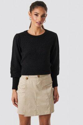 Trendyol Trendyol Button Detailed Mini Skirt - Beige