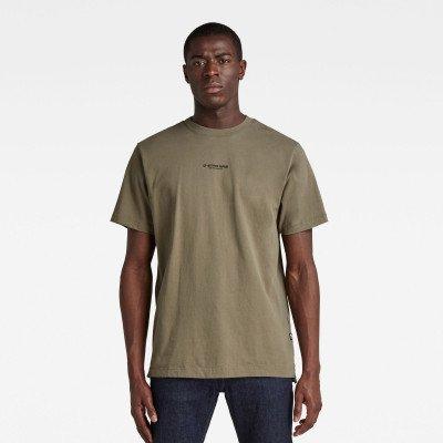 G-Star RAW Center Chest Logo GR Loose T-Shirt - Groen - Heren