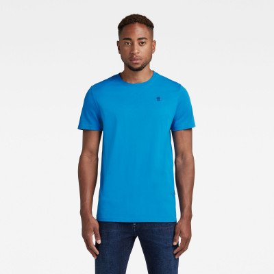 G-Star RAW Base-S T-Shirt - Midden blauw - Heren