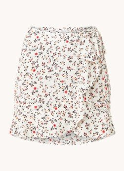 Aligne Aligne Cressida mini rok met bloemenprint en plooidetail