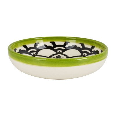 Schaal Marrakesh - groen - ø18 cm