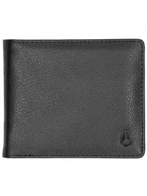 Nixon Nixon Pass Vegan Leather Coin Wallet zwart