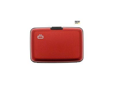 Ogon Designs Ogon Aluminium Creditcardhouder Red
