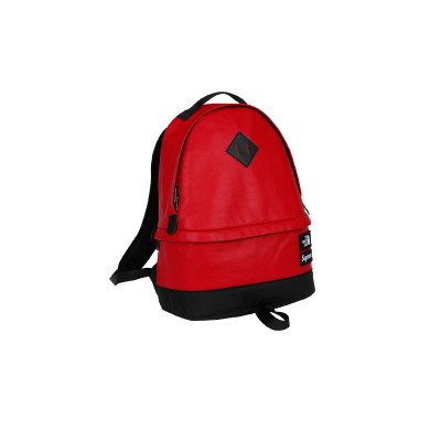 Supreme Supreme x The North Face Leather Day Pack TNF Backpack Red (FW17)