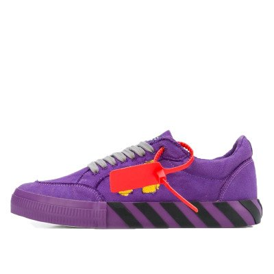 Off-White Off-White Vulc Low Top Violet