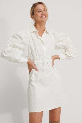 NA-KD NA-KD T-Shirtjurk - White
