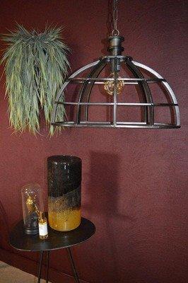 PTMD PTMD Hanglamp 'Denver', Metaal, 46 x 60cm, kleur Zwart