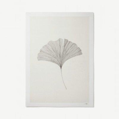 MADE.COM Grinko Leaf door Ana Frois, print, 50 x 70 cm