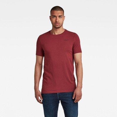 G-Star RAW Slim Base R T-Shirt - Rood - Heren