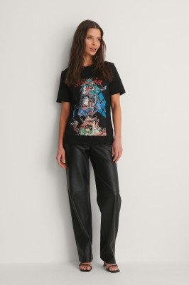 Warner Bros. Warner Bros. Basic T-Shirt - Black