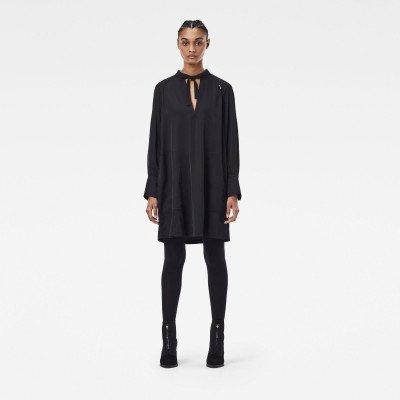 G-Star RAW V-neck tunic dress - Zwart - Dames