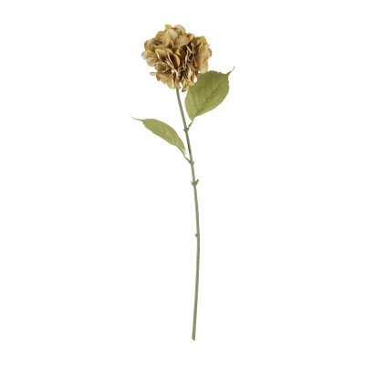 Xenos Hortensia luxe - oranje - 74 cm