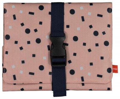 HEMA Toilettas Met Ophanghaak - Uitvouwbaar - 44x20 - Roze (roze)
