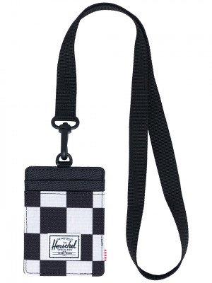 Herschel Herschel Charlie Lanyard RFID Wallet zwart