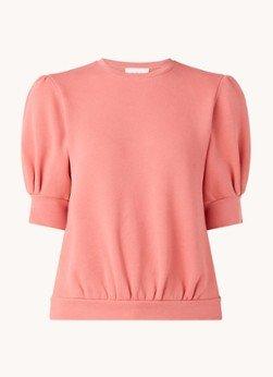 BAenSH ba&sh Tael sweater met pofmouw