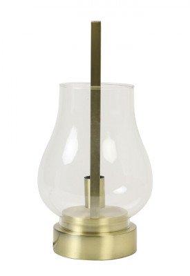 Light en Living Light & Living Tafellamp 'Amanda' 48cm, kleur Brons