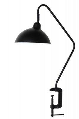 vtwonen vtwonen Tafellamp 'Orion' met klem, mat zwart