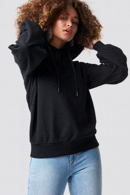 Rut&Circle Rut&Circle Balloon Sleeve Sweatshirt - Black