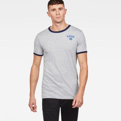 G-Star RAW Polyca Slim T-Shirt - Grijs - Heren